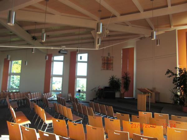 Gemeindezentrum der Gemeinde am Soonwald in Winterbach